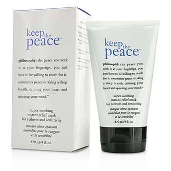 Keep The Peace Super Soothing Instant Relief Mask Philosophy Keep The Peace Super Soothing Instant Relief Mask 120ml/4oz