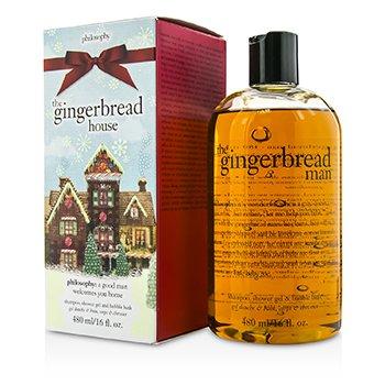 PhilosophyGingerbread Shampoo, Shower Gel & Bubble Bath 480ml/16oz