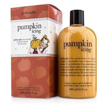 Pumpkin Icing Shampoo  Shower Gel & Bubble Bath Philosophy Pumpkin Icing Shampoo  Shower Gel & Bubble Bath 480ml/16oz