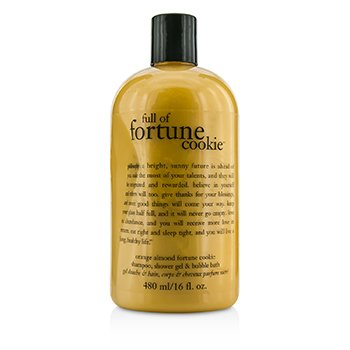 Full Of Fortune Cookie Shampoo  Shower Gel & Bubble Bath Philosophy Full Of Fortune Cookie Shampoo  Shower Gel & Bubble Bath 480ml/16oz