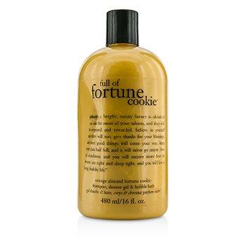 PhilosophyFull Of Fortune Cookie Shampoo, Shower Gel & Bubble Bath 480ml/16oz
