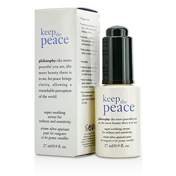 Keep The Peace Super Soothing Serum Philosophy Keep The Peace Super Soothing Serum 27ml/0.9oz