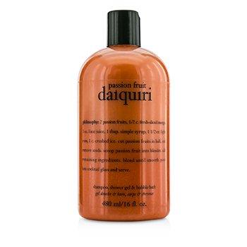 PhilosophyPassion Fruit Daiquiri Shampoo, Shower Gel & Bubble Bath 480ml/16oz