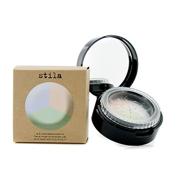 Stila Set & Correct Baked Powder Trio – #The Correctors 4.5g/0.16oz