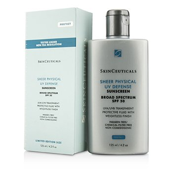 Skin CeuticalsSheer Physical UV Defense SPF 50 - Limited Edition Size 125ml/4.2oz