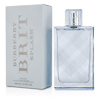 BurberryBrit Splash Eau De Toilette Spray 100ml/3.3oz