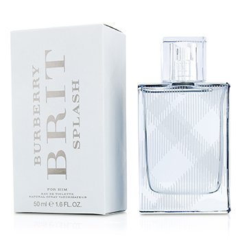 Burberry Brit Splash EDT Spray 50m/1.6oz  men