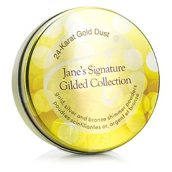Jane IredaleJane's Signature Gilded Collection (3x 24 Karat Gold Dust Shimmer Powder) 3x1.8g/0.06oz