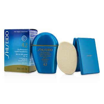 시세이도 UV Protective Liquid Foundation SPF42 - # Light Ivory 30ml/1oz