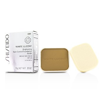 시세이도 White Lucent Brightening Spot Control Foundation SPF26 Refill - # O40 (Ochre 20) 10g/0.35oz