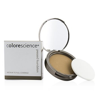 컬러사이언스 Pressed Mineral Foundation Compact - All Even (Warm Light) 12g/0.42oz