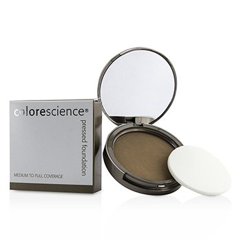 컬러사이언스 Pressed Mineral Foundation Compact - Girl From Ipanema (Warm Tan) 12g/0.42oz