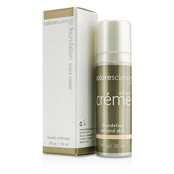 컬러사이언스 Sheer Creme Foundation - Second Skin 30ml/1oz