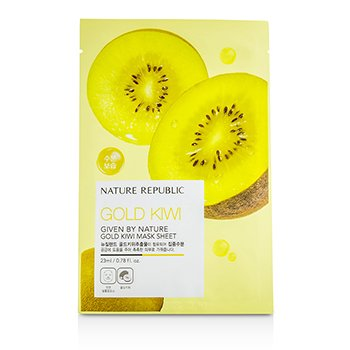 Nature Republic Given By Nature Mask Sheet - Gold Kiwi 10x23ml/0.78oz