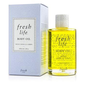 Fresh Fresh Life Body Oil  100ml/3.3oz