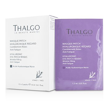 ThalgoHyaluronic Eye-Patch Masks (Salon Product) 12x2patchs