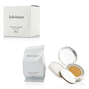 Sulwhasoo Perfecting Cushion Brightening SPF50 – #17 Light Beige 2x15g/0.5oz