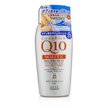 Kose CoenRich Q10 White Body Milky Gel UV SPF25 PA++  130ml/4.3oz