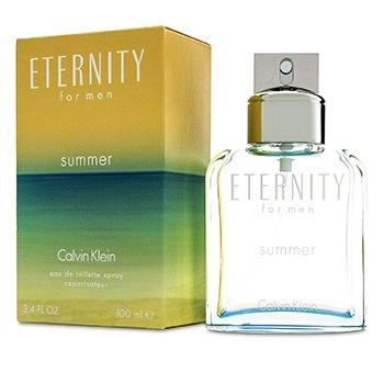 Calvin Klein Eternity Summer EDT Spray (2015 Edition) 100ml/3.4oz  men