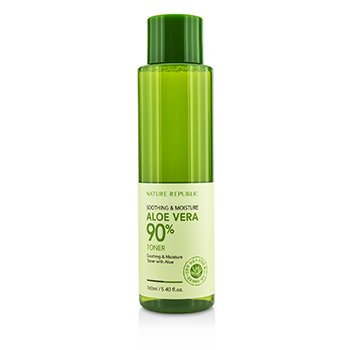 Nature Republic Soothing & Moisture Aloe Vera 90% Toner 160ml/5.4oz