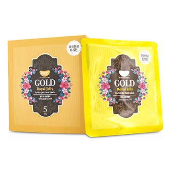 Koelf Hydro Gel Mask Pack – Gold (Royal Jelly) 5x30g/0.1oz