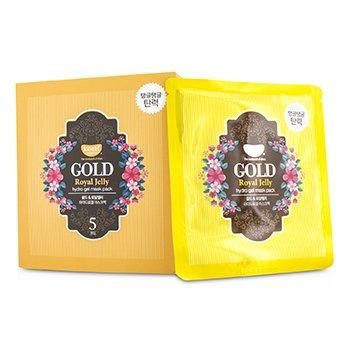 Koelf Hydro Gel Mask Pack - Gold (Royal Jelly) 5x30g/0.1oz