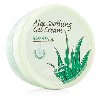 SkinFood Aloe Soothing Gel Cream With Aloe Barbadensis Leaf Water 100g/3.52oz