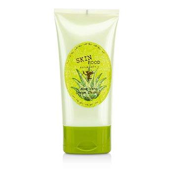 SkinFoodAloe Vera Cream Cleanser 130ml/4.39oz