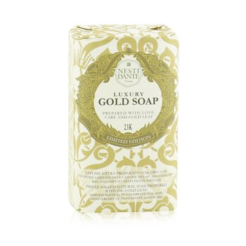 Image of Nesti Dante 60 Anniversary Luxury Gold Soap With Gold Leaf (Limited Edition) 250g/8.8oz