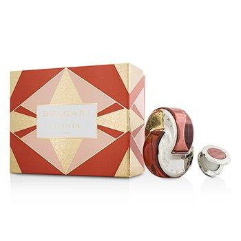 BvlgariOmnia Coral Coffret: Eau De Toilette Spray 65ml/2.2oz + Solid Perfume 1g/0.03oz 2pcs