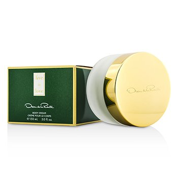 Oscar De La Renta Live In Love Crema Corporal  150ml/5oz