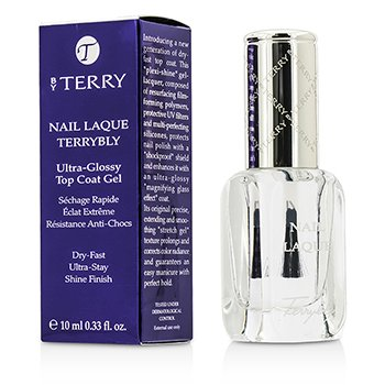 By Terry Nail Laque Terrybly Ultra Glossy Top Coat Gel - # 500  10ml/0.33oz