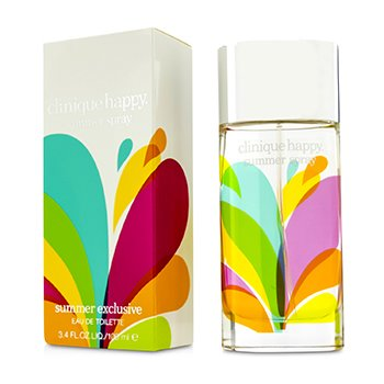 Clinique Happy Eau De Toilette Spray (Edici�n Verano 2014)  100ml/3.4oz