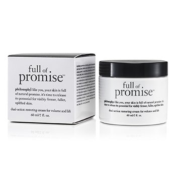 Philosophy Full Of Promise Crema Restauradora de Acci�n Dual Para Volumen y Levante  60ml/2oz