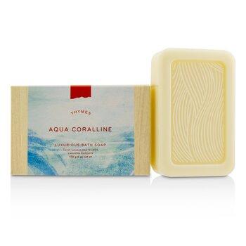 Thymes Aqua Coralline Luxurious Bath Soap 170g/6oz