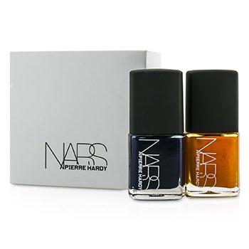 NARS Pierre Hardy Ethno Run D�o Esmalte U�as (1x Azul Oscuro, 1x Naranja Brillante)  2x15ml/0.5oz
