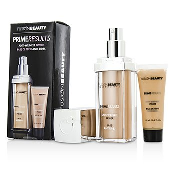 Fusion BeautySet Anti Arrugas Prime Results : 1x  Primer Anti Arrugas + 1x Mini Primer Anti Arrugas 2pcs