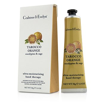 Crabtree & EvelynTarocco Orange, Eucalyptus & Sage Ultra-Moisturising Hand Therapy 50g/1.8oz