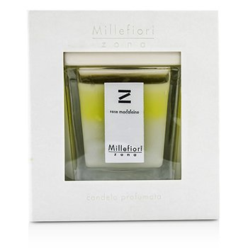Millefiori Scented Candle - Rose Madeleine 160g/5.64oz