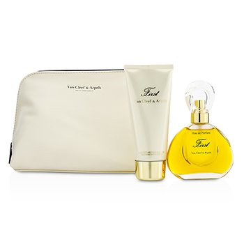 Van Cleef & ArpelsFirst Coffret: Eau De Parfum Spray 60ml/2oz + Body Lotion 100ml/3.3oz 2pcs