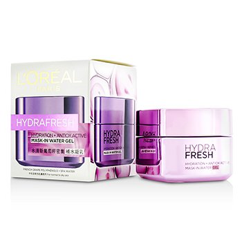 L'Oreal ��ʡ� Hydra Fresh Hydration+ Antiox Active Mask-In Water Gel  50ml/1.7oz