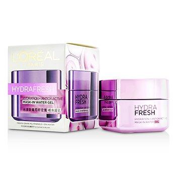 L'OrealHydra Fresh Hydration+ Antiox Active Mask-In Water Gel 50ml/1.7oz