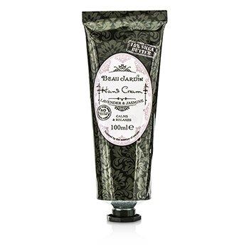 Heathcote & Ivory Beau Jardin Lavender & Jasmine 15% Shea Butter Hand Cream (Unboxed) 100ml/3.38oz