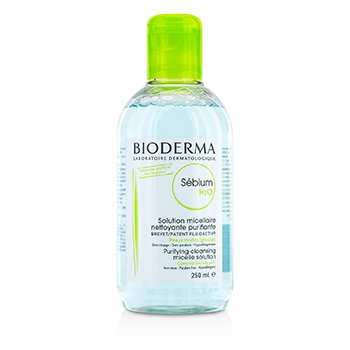 BiodermaSebium H2O Purifying Cleansing Solution - For Combination/Oily Skin (Exp Date: 02/2016) 250ml/8.4oz
