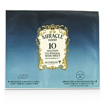 SkinFoodMiracle Food 10 Solution Eye Patch & Mask Sheet 5x30g/1oz
