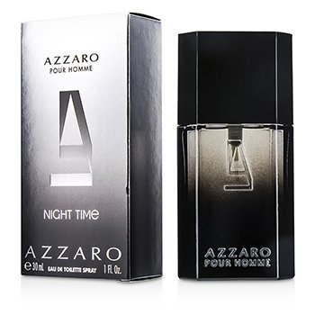 AzzaroNight Time Eau De Toilette Spray 30ml/1oz