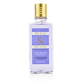 L'Occitane Iris Bleu & Iris Blanc Shower Gel  250ml/8.4oz