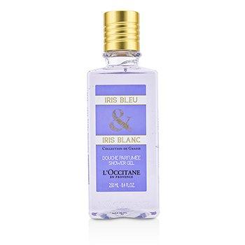 L'Occitane Iris Bleu & Iris Blanc Shower Gel  250ml/8.4oz