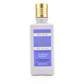L'Occitane Iris Bleu & Iris Blanc Body Milk 250ml/8.4oz