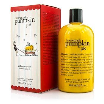 PhilosophyHomemade Pumpkin Pie Shampoo, Shower Gel & Bubble Bath 480ml/16oz